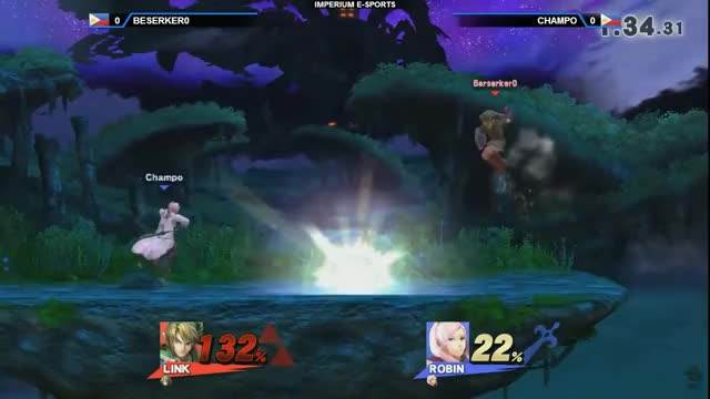 Champo's Robin is epic! The book of Jeysus is real! (x-post /r/SmashBrosPH)
