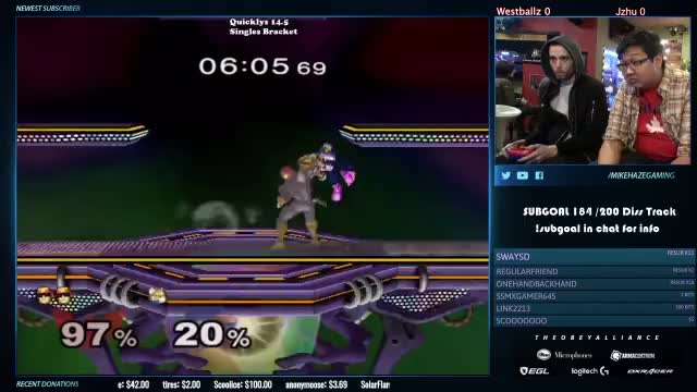 One Way to Take a Game off Westballz