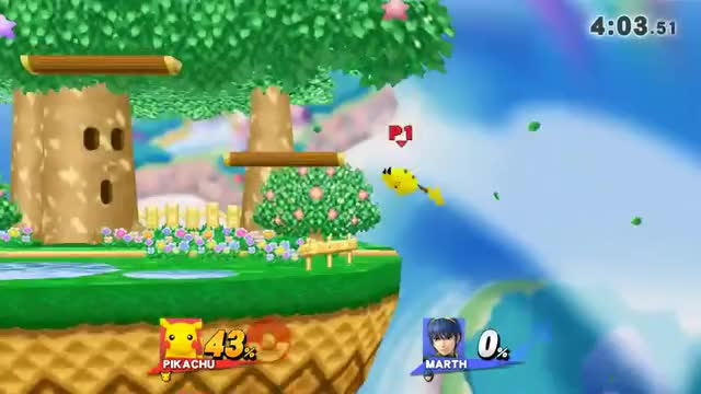 Marth's hitboxes are weird