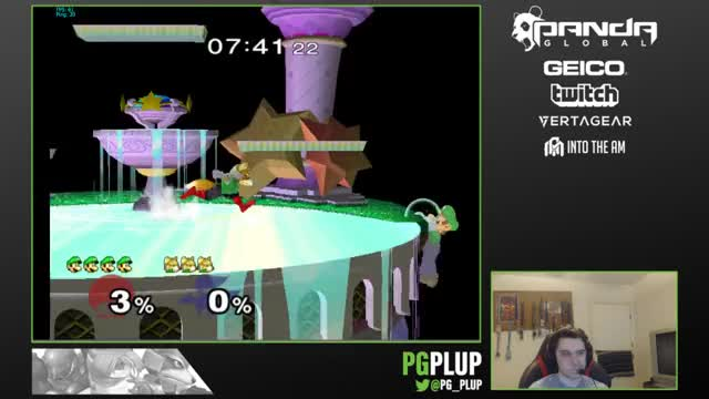 Plup's Luigi is Silly