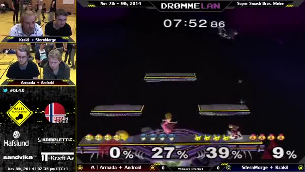 Armada and Android team combo from DrømmeLAN 4.0
