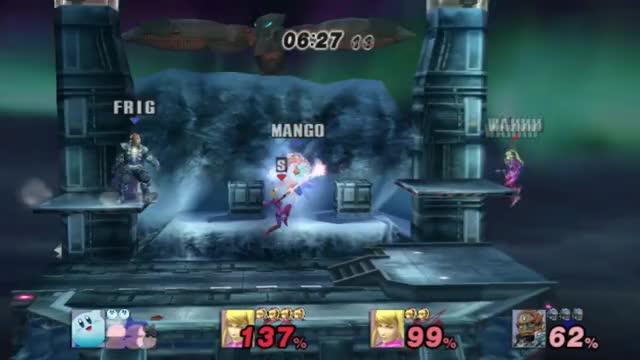 Kirby's Ganon punch > Ganon's Sword