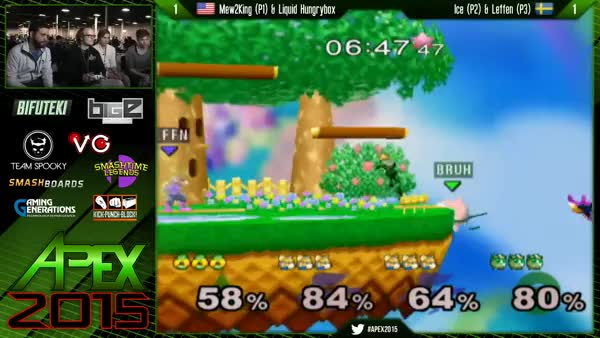 Amazing recovery by Ice and Leffen at Apex