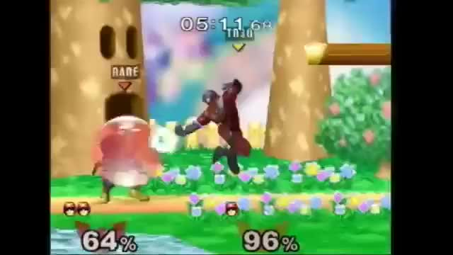 Stomp to Falcon punch read