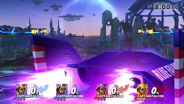 Red Falcon gets bodybagged 5 seconds into the match