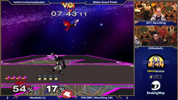 Westballz's Unreal Falco Combo fom the Brink of Death