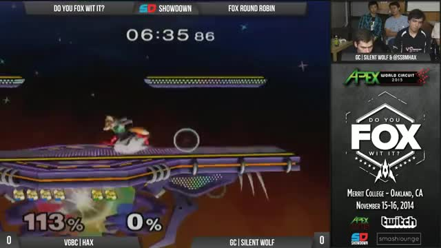 Silent Wolf covers roll to the right and pays with his life