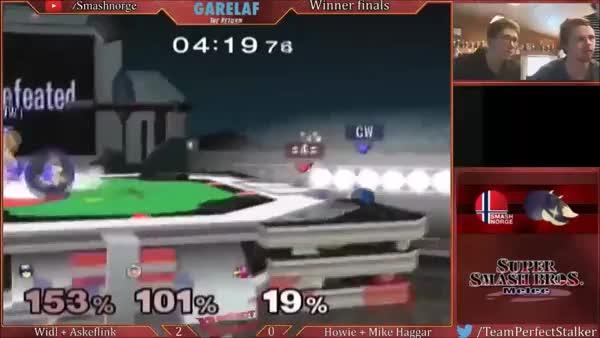 Mike Haggar´s amazing set deciding Falcon Punch! (Falco win)