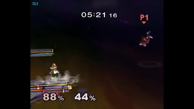 Falcon punched twice