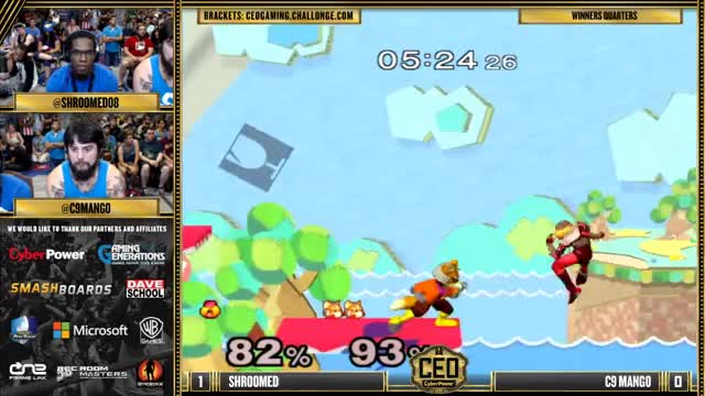 Shroomed with some slick sheik play vs. Mango