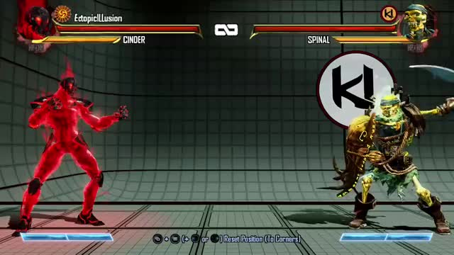 KI Cinder Pulling Off A Falcon Knee
