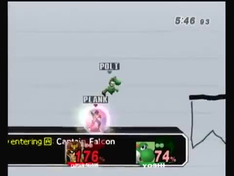 Poltergust's Yoshi styling on Ally in Low Tier Grand Finals