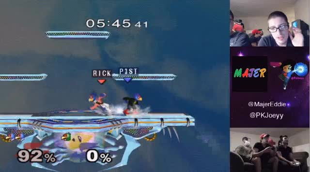 Example of how volatile the Falco ditto is