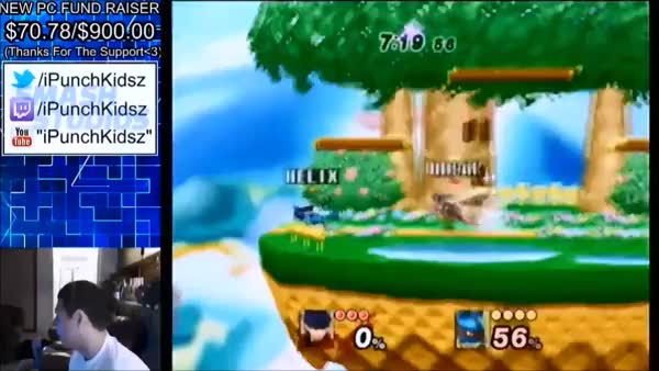 iPunchKidsz Lucario combo on Project M