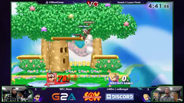 Boss's luigi with a slippery zero to death at Xanadu