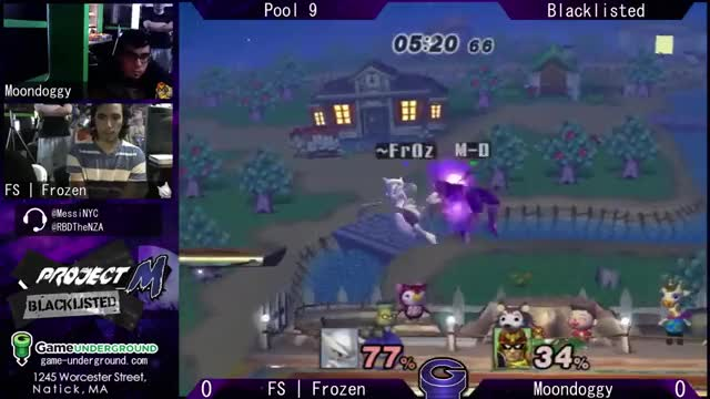 Sweet 0-Death Edgegaurd chain from Frozen's Mewtwo