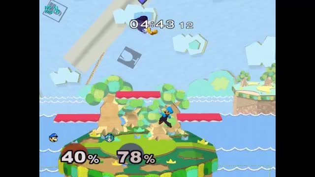 Luigi Triple Invisible Ceiling