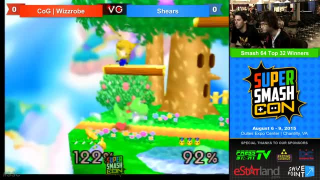 Wizzrobe's Yoshi with a sneaky gimp