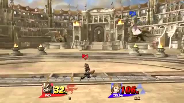 Zelda's New Offensive Recovery in Smash 4 is Looking Solid