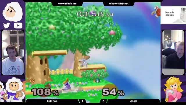 CPU Nana blizzard into upair edge cancel follow up