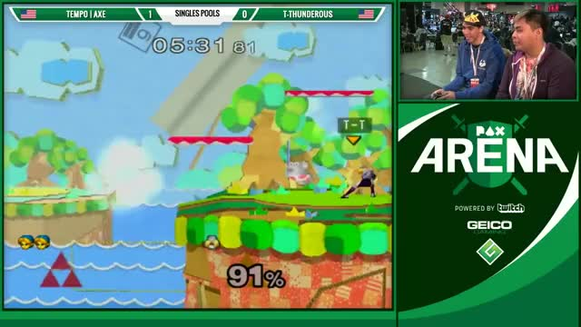 Axe's Godly Dair Setup as Young Link
