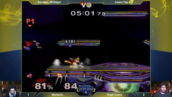 Westballz with the frame-perfect, perfectly-framed pause