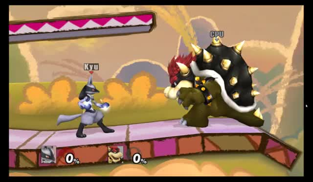 Lucario Up B Glitch
