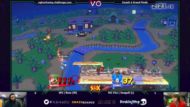 Boss with the Mario combos
