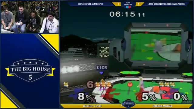 [TBH5] Triple R with the double kirby gimp on Prof and Chillin