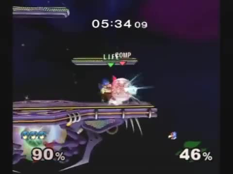 [Marth] Janky Combo Ending With Downsmash to Upsmash