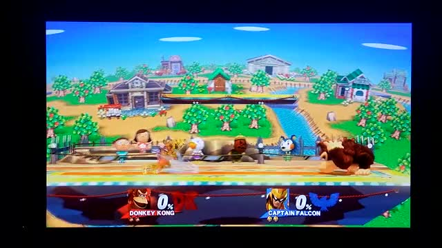 Dong goes deep to punish Falcon. Lasts 16 seconds