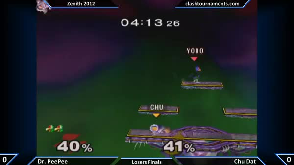 [Falco] Gorgeous extended edgeguard by PPMD. (Ftilt's really good, guys!)