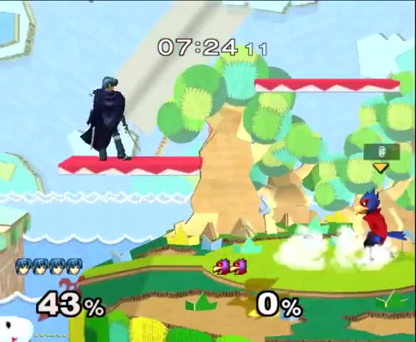 You Can't Platform Cancel Marth's Uair, Can You?
