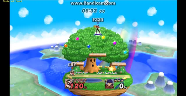 "Wario: ""I wish I could fly"" Ike: ""Let me help you with that"""