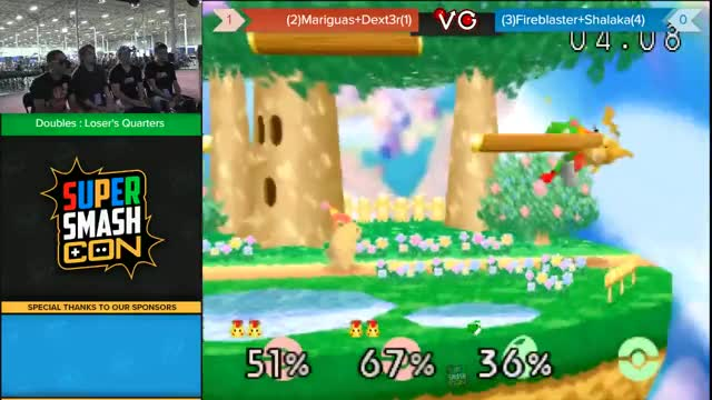 Mariguas and Dext3r with the team combo at SSC