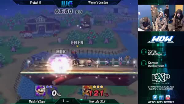 Sago's Backflip waveland Misfire (x-post from /r/smashbros)