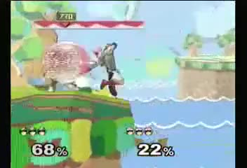 Prog punishes a Falcon Punch