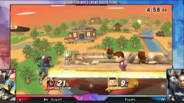 Zinoto's Villager NairCycle from SSB4 Invitational