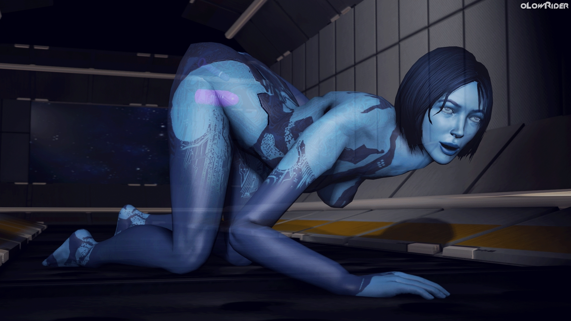 Halo cortana human porn anime clips