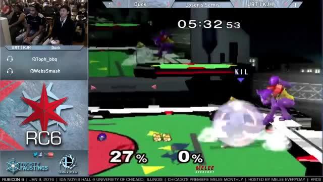 KJH gets Ducked up [Samus]