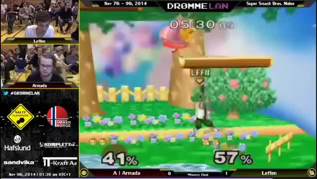 Armada's insane punish on Leffen at DrømmeLAN