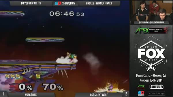 If at first you don't succeed… (Tenacious edgeguard by Silent Wolf)