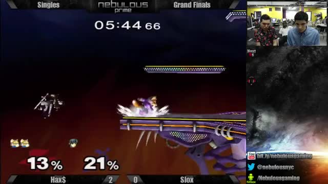 Hax showing Slox there's levels to this