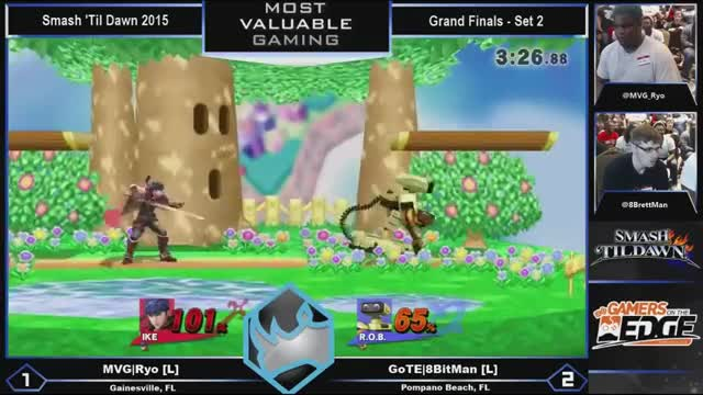 Ryo's glide toss to jab in Grand Finals of Smash Til' Dawn