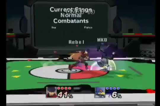 Ike messes up his fastfaller combo