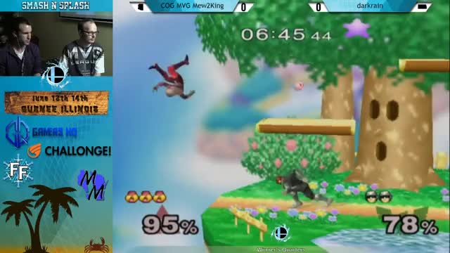 M2k showing off vs Darkrain