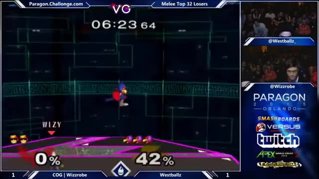 [Falco] I guess you'd call this a 5-to-ledgehog instead of a 0-to-death.
