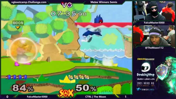 FalcoMaster 3000 finishes out an impressive first stock against TheMoon20XX with an impressive shine out of shield techchase.