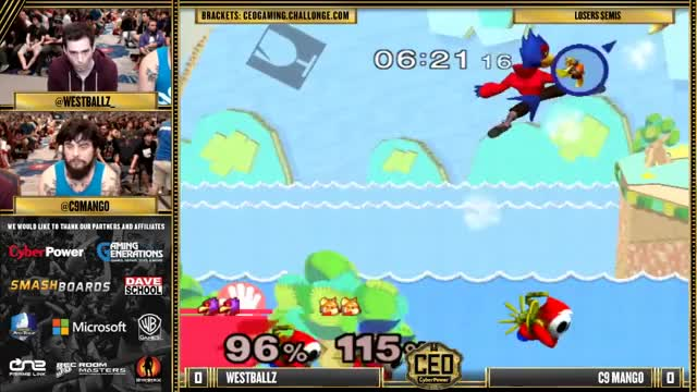 Crazy edgeguard by Westballz