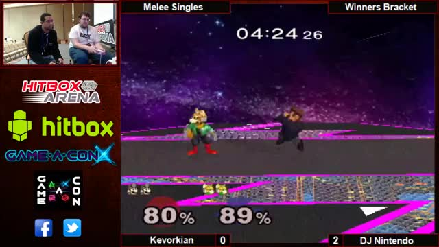 Kevorkian with the slick Up-B Cancel to Fair